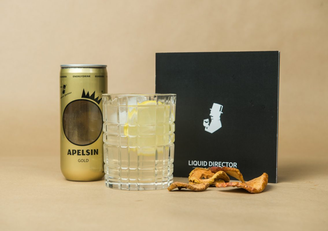 Apelsin Energy Drink mit Gin