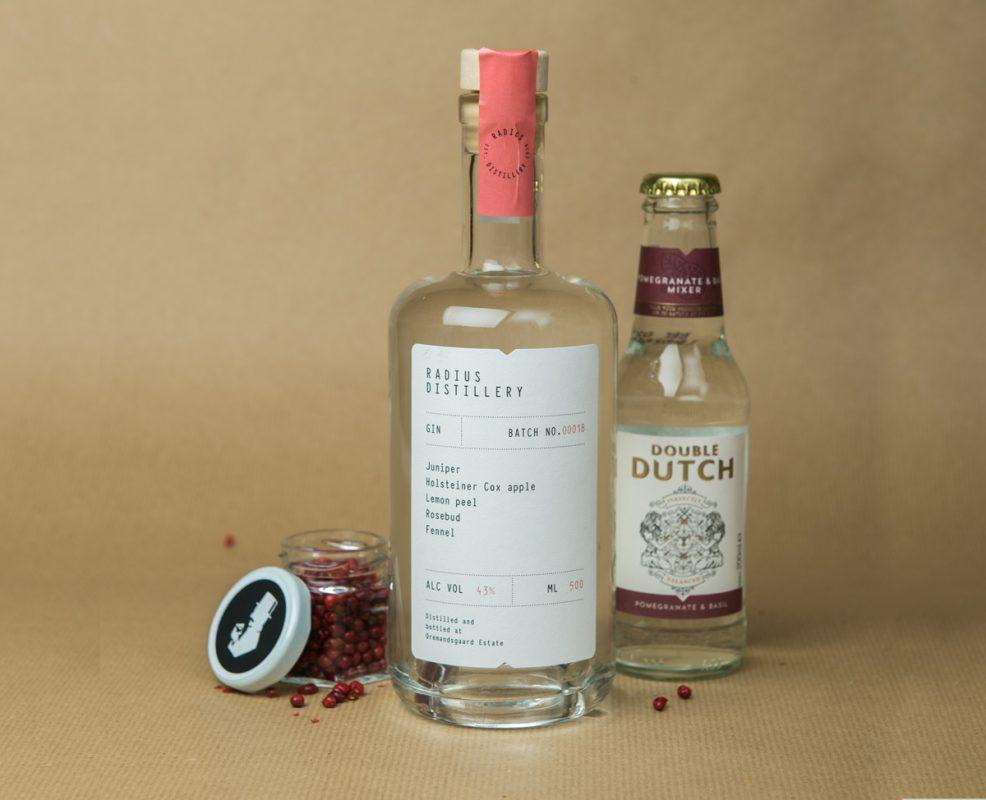 Die Gin Tonic Empfehlung zum Radius Gin 018 aus dem Gin Club