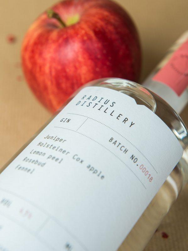 Radius Destillerie Apfel Gin