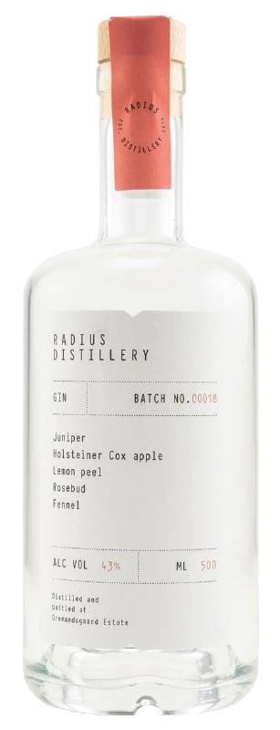 Radius Gin Batch 018 Flasche Freisteller