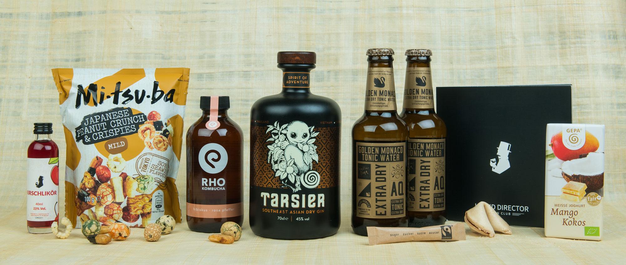 Tarsier Gin Box Asia