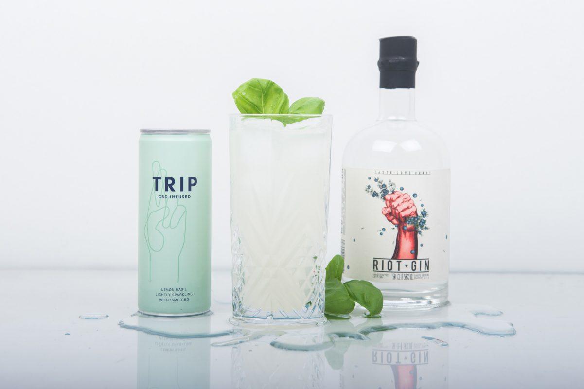 Limonade von TRIP DRINKS mit Gin als Cocktail