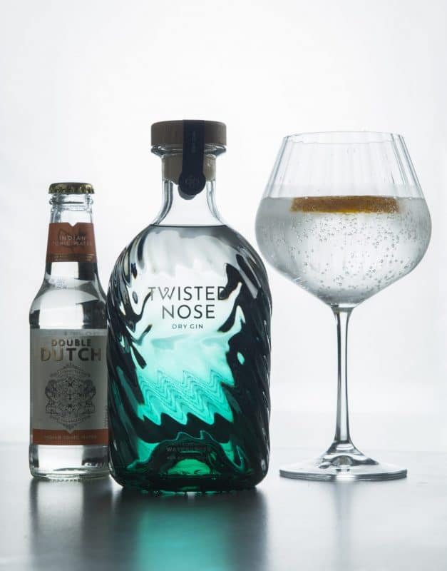 Twisted Nose Gin Best Serve / Gin Tonic Water
