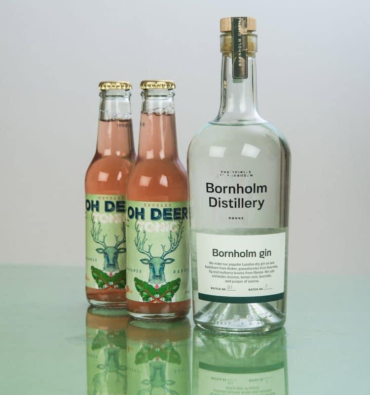 Oh Deer Tonic Water Rhabarber mit Bornholm Gin