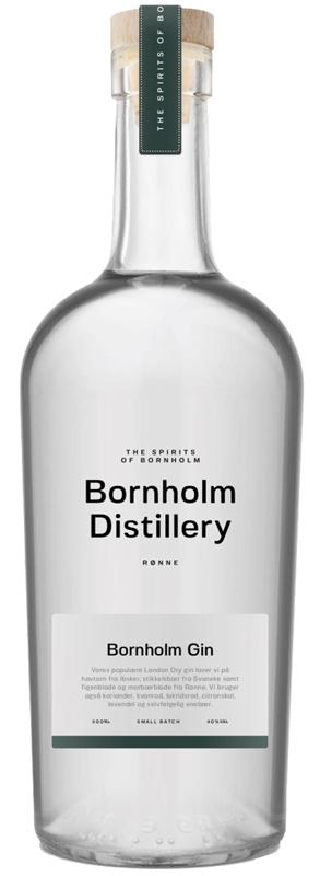 Freisteller Gin Flasche Bornholm