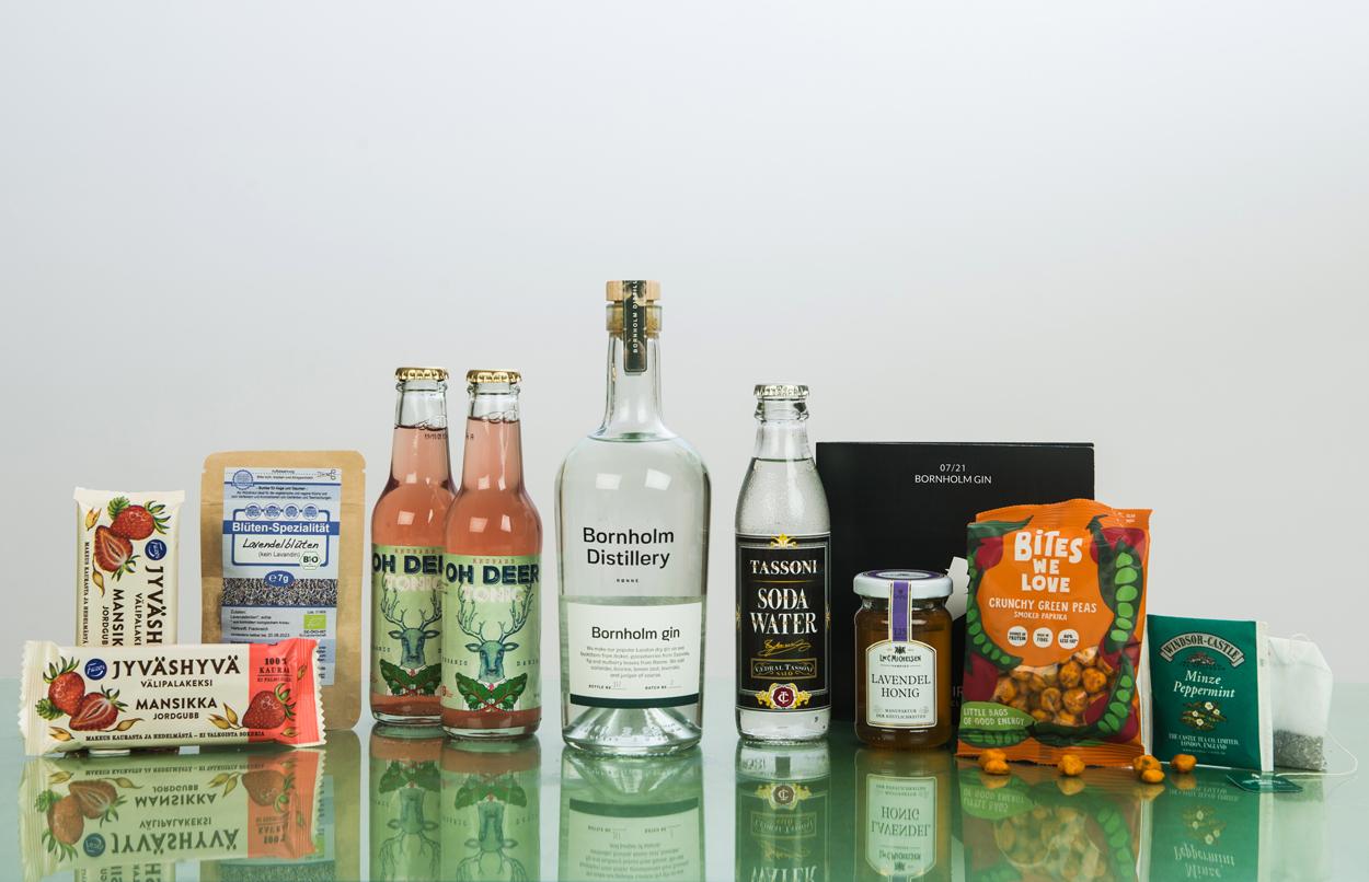 Bornholm Gin in der Gin Abo Box