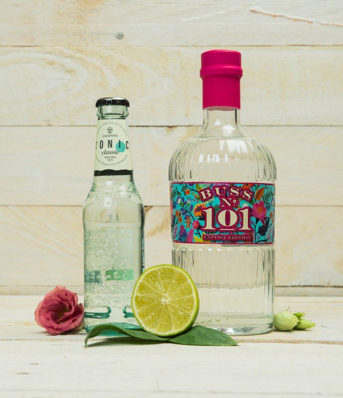 Galvanina Tonic Water von LifeStyleDrinks mit Buss 101 Gin