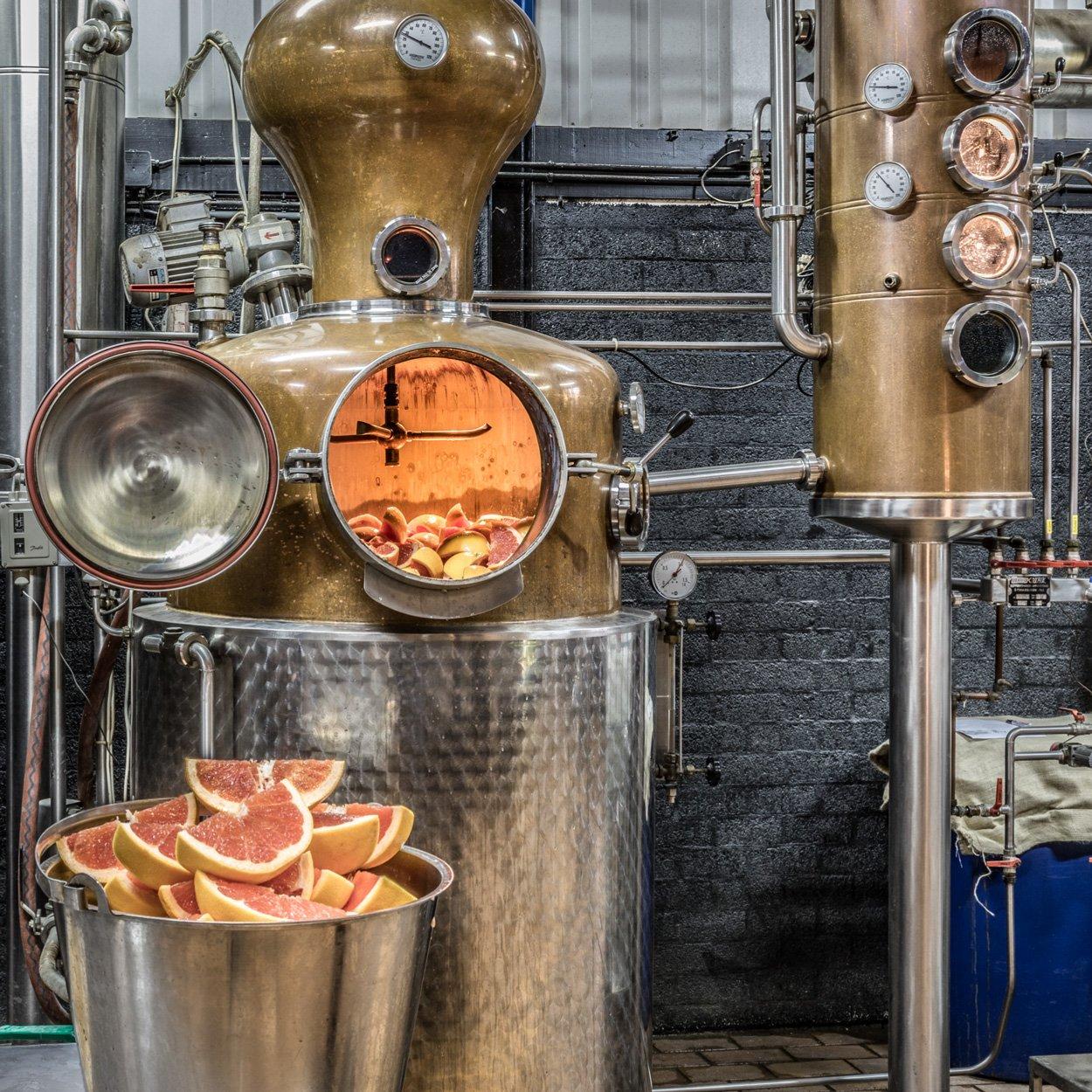 Distillery Serge Buss 101 Gin