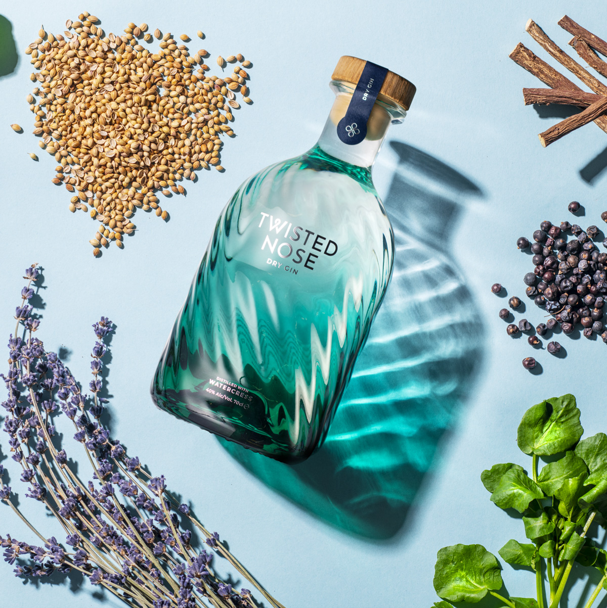 Botanicals vom Twisted Nose Gin aus Hampshire