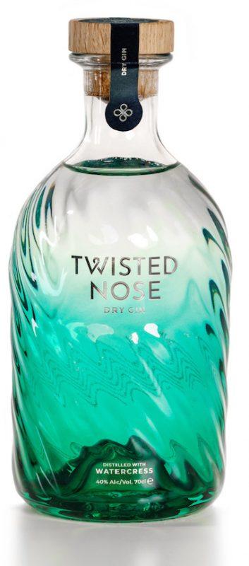 DIe Flasche des Twisted Nose Gin