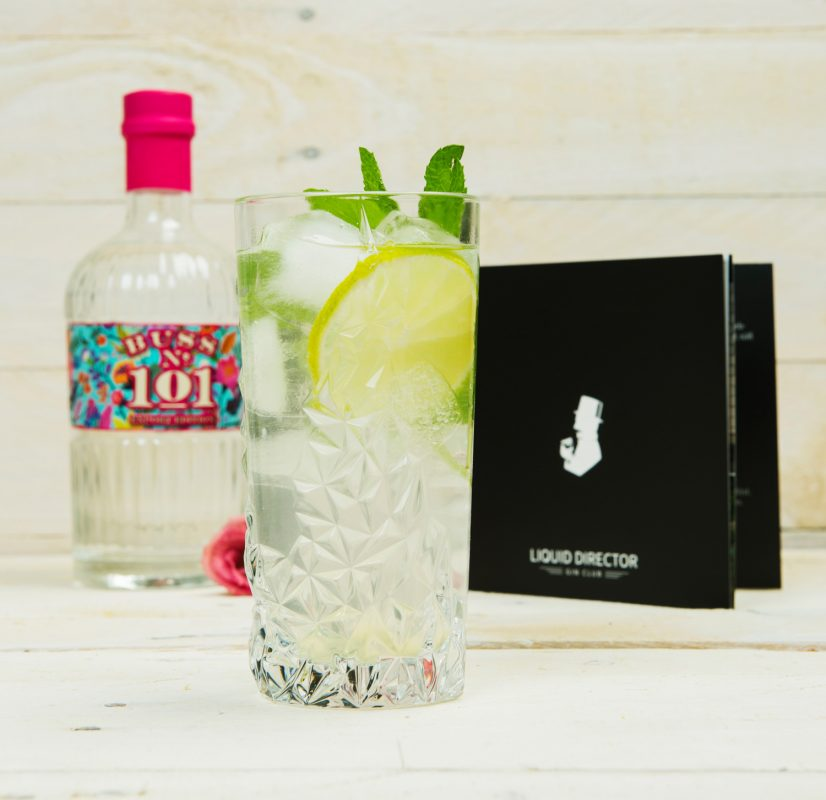 White Colombia mit Gin Cocktail