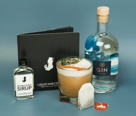 Diamond Spiced Sour Gin Cocktail