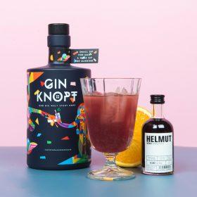 Orange Blossom Gin Cocktail mit Helmut Wermut