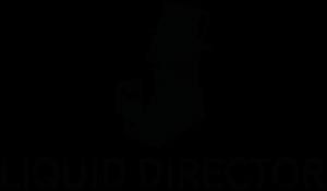 Liquid Director Logo - schwarz
