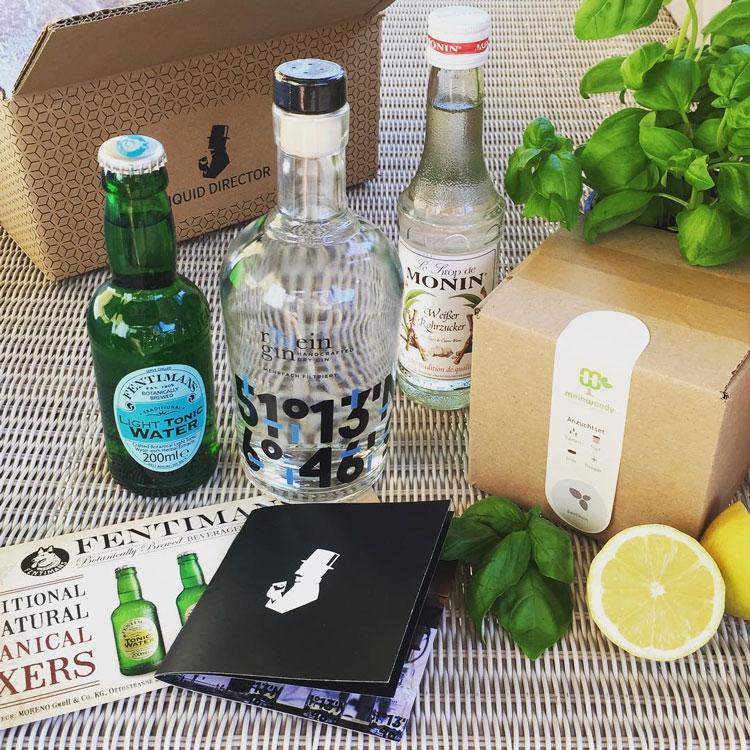 Rhein Gin Liquid Director Gin Box