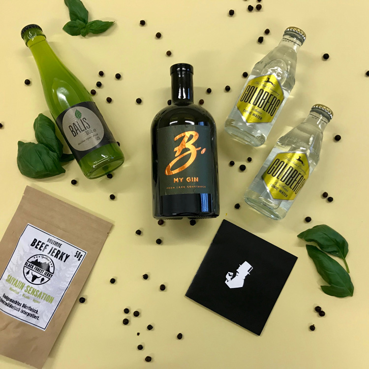 B my Gin vom Bodensee