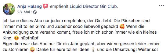 Anjas Erfahrung mit Liquid DIrector