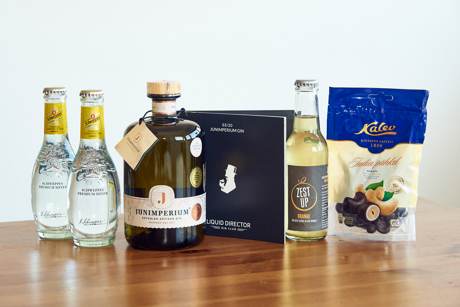 Junimperium Gin als Gin-Set