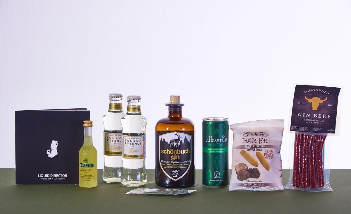 Schönbuch Gin im Liquid DIrector ABo