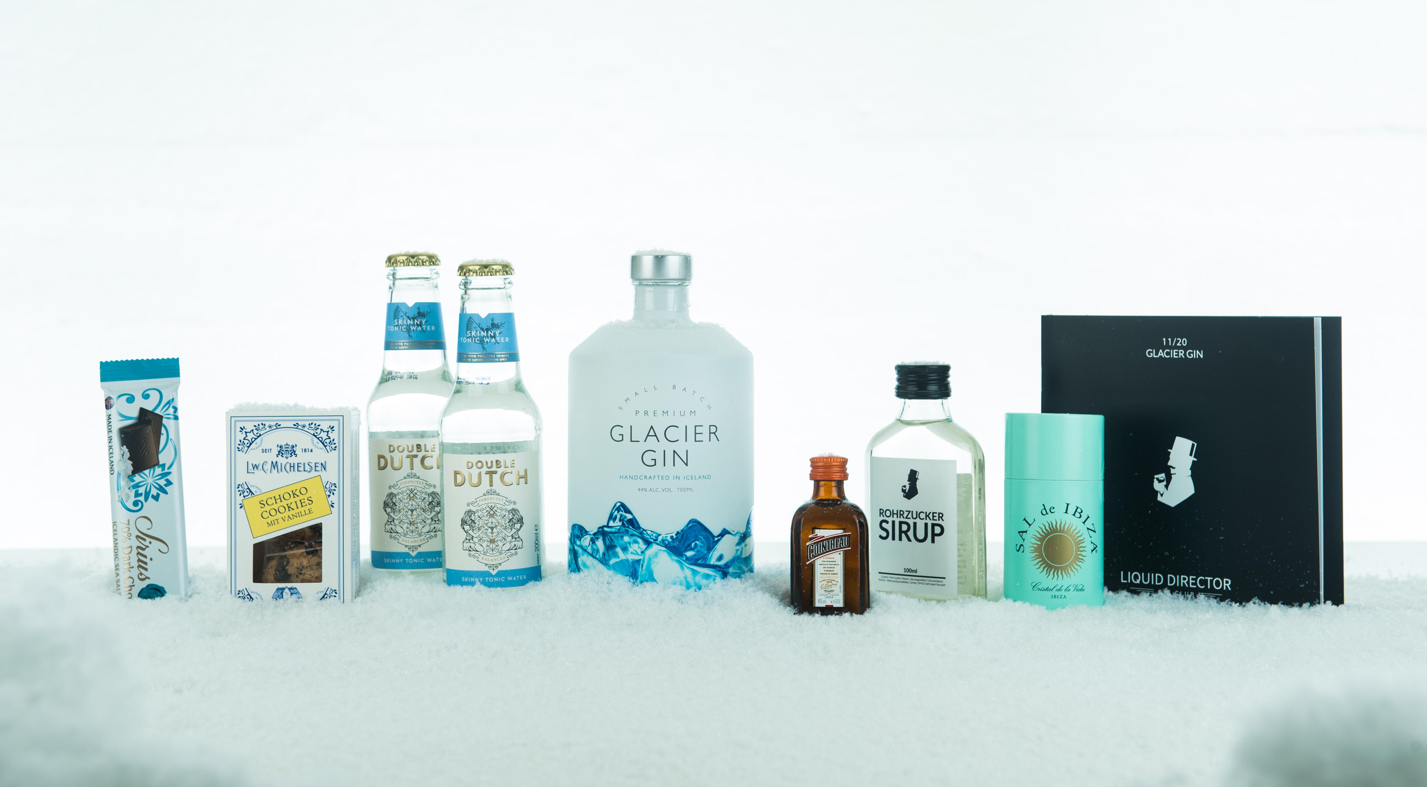 Glacier Gin aus Island