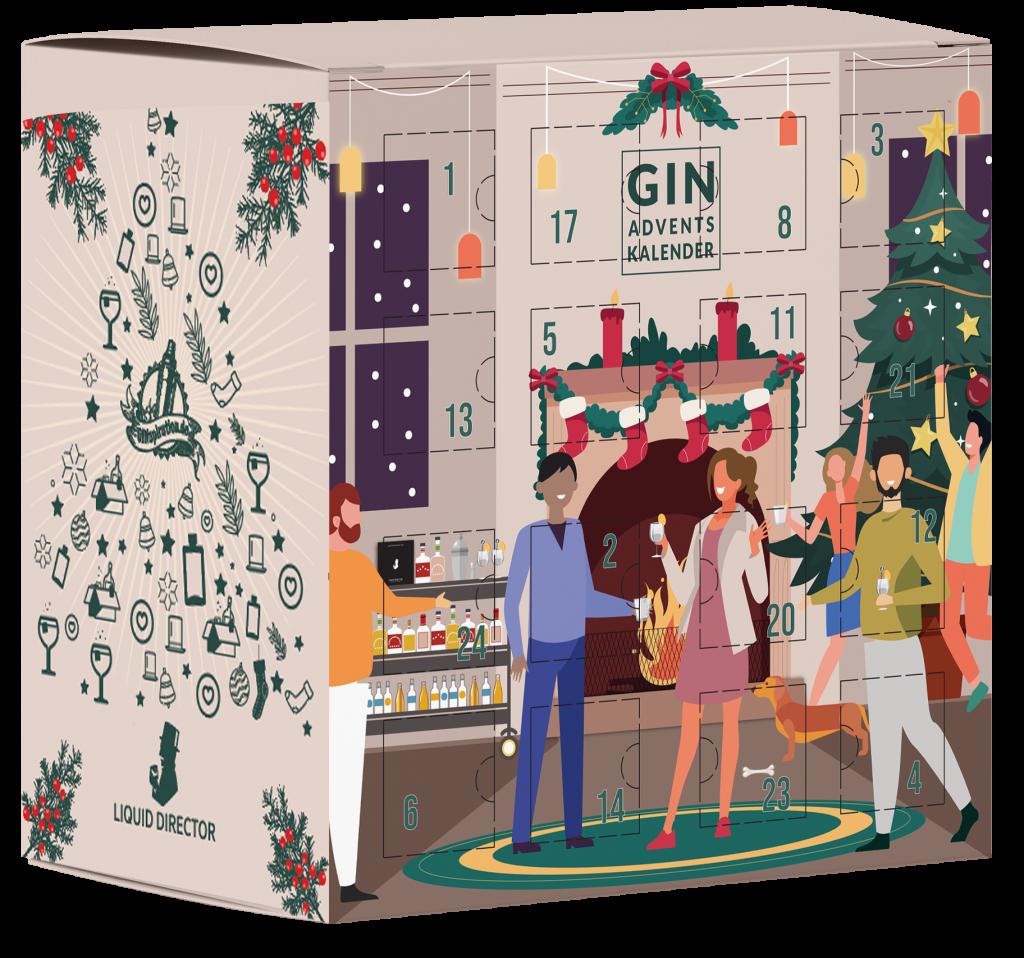Gin Adventskalender 2021 3D Modell