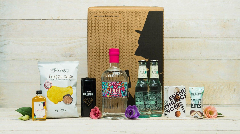 Bus Gin Box 101 mit Galvanina Tonic Water