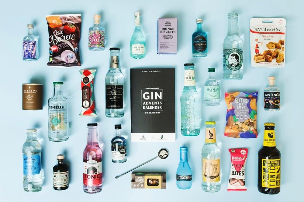 Gin Adventskalenderinhalte 2021