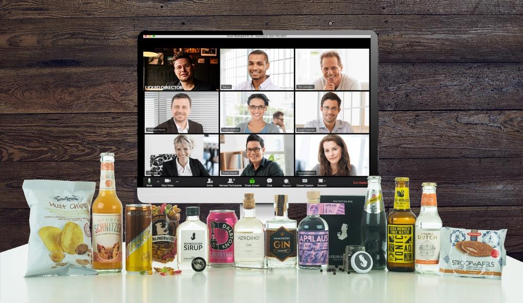 Online Gin Tasting für Firmen