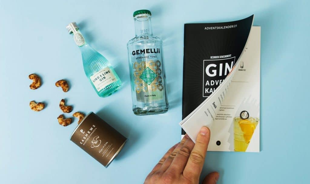 Unser Idee zum Gin Adventskalender 2021