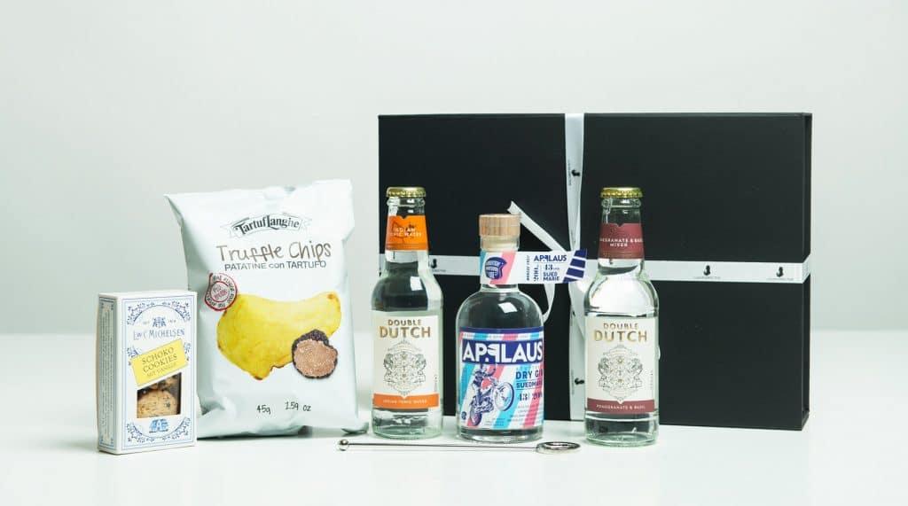 Firmenpräsente mit Gin als Geschenk
