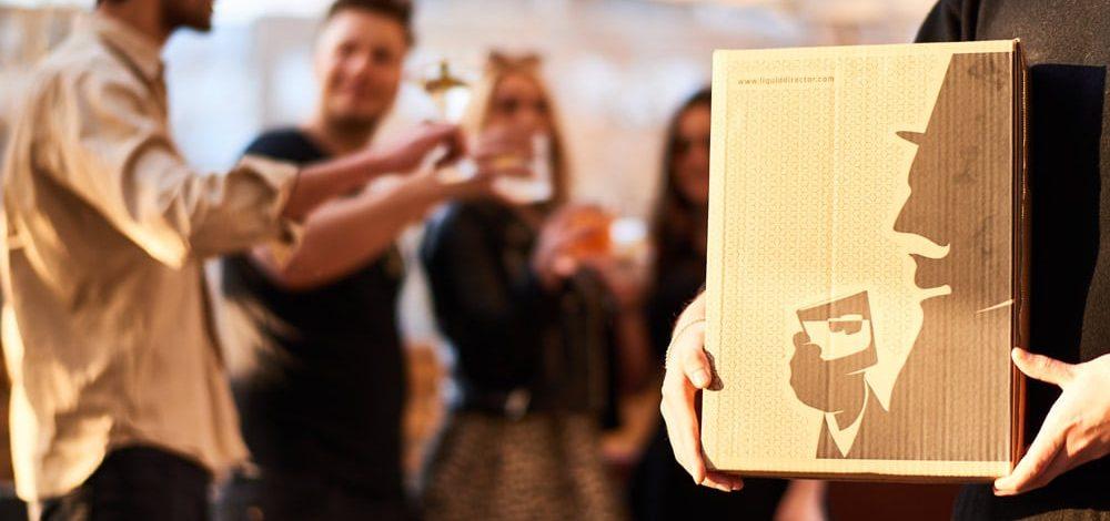 Online Gin Tasting Box mit Individualisierung